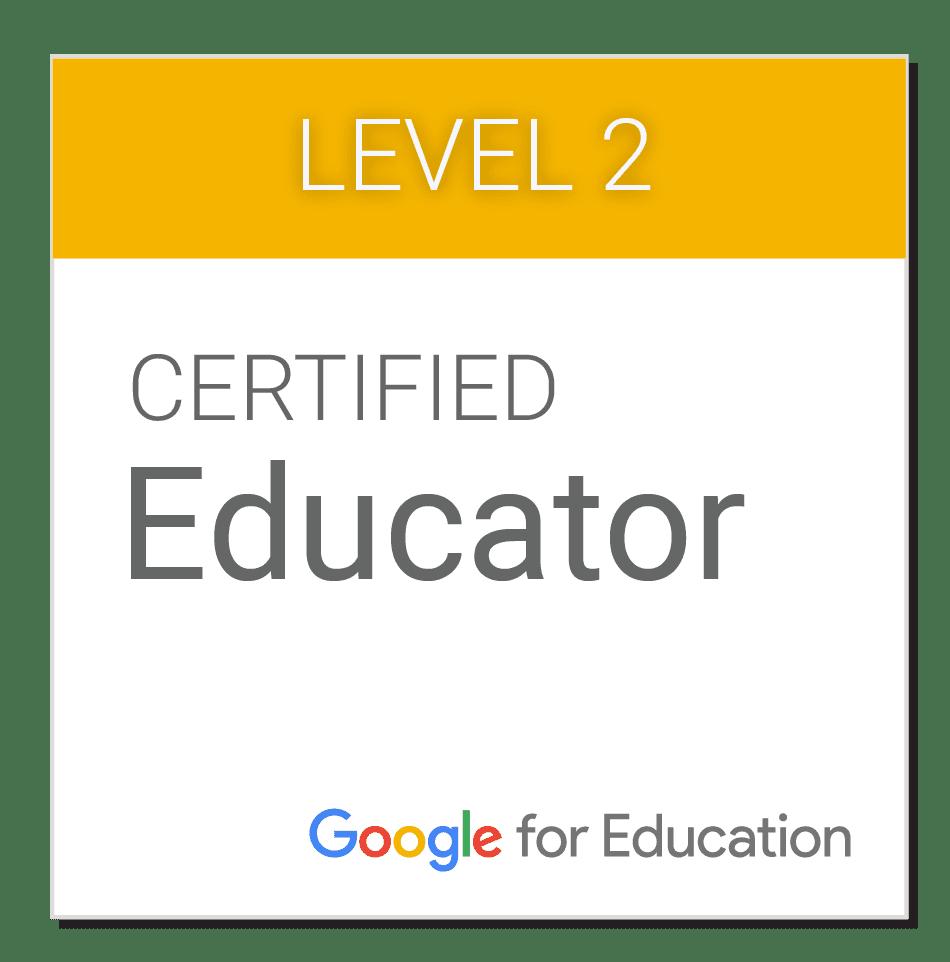 Google認定教育者レベル2